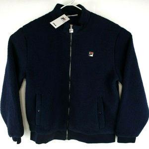 Fila Mens Finch Zip Front Sherpa Jacket Sz XL NWT